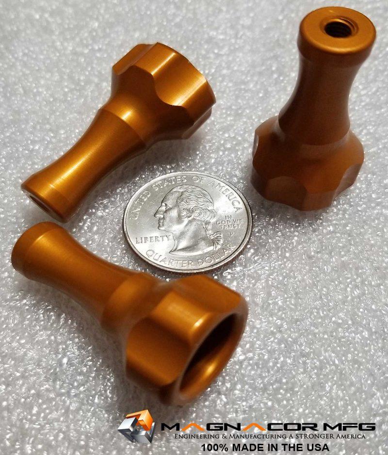 Magnacor Mfg. PRO H-D Custom Thumb Screw - Orange