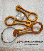 Magnacor Mfg. PRO H-D Thumb Screw Wrench - Orange